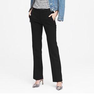 Banana Republic Logan trouser-fit black pant